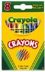 Crayola 52-3008 8-Pack Crayons