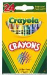 Crayola 52-3024 24-Pack Crayons
