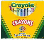 Crayola 52-0064 64-Pack Crayons with Sharpener