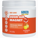 Weiman Products 4119D Odor Absorbing Gel, Citrus, 14-oz.