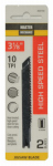 Disston 278572 2-Pack 3-1/8-Inch 10-TPI Carbon Jigsaw Blade
