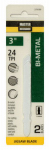 Disston 279190 2-Pack 3-Inch 24-TPI Bi-Metal Jigsaw Blade