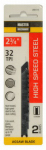 Disston 280115 2-Pack 2.75-Inch 32-TPI Metal-Cutting High-Speed Steel Jigsaw Blade