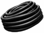 Advanced Drainage Systems 04510100 4-Inch x 100-Ft. Corrugated Solid Poly Drainage Tube