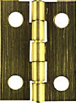 National Mfg/Spectrum Brands Hhi N211-227 Narrow Hinge, Brass, 1.5 x 7/8-In., 2-Pk.