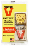 Woodstream M035 Easy-Set Mouse Trap, 2-Pk.