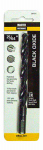 Disston 287675 Black Oxide Drill Bit, Jobber Length, 25/64 x 5-1/8-In.