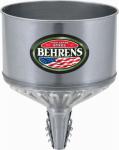 Behrens GTF 123 Tractor Funnel, Galvanized