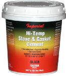 Imperial Mfg Group Usa KK0295-A Furnace Cement, Black, 16-oz.