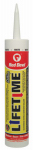 Red Devil 0856 Lifetime Acrylic Siliconized Caulk, White, 10.1-oz.
