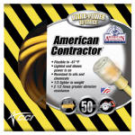 Southwire/Coleman Cable 01798 50-Ft. 10/3 Yellow American Contractor Series Outdoor Cord