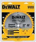 Dewalt Accessories DW3114 10-Inch 40-TPI Table Saw Blade