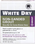 Custom Bldg Products WDG1-6 Dry Tile Grout, White, 1-Lb.