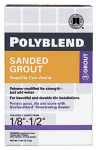 Custom Bldg Products PBG117-4 7-Lb. Snow White Sanded Polyblend Grout