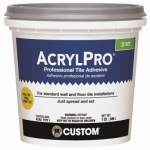 Custom Bldg Products ARL4000QT Qt. White High-Performance Mastic