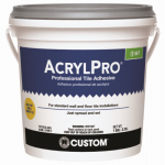 Custom Bldg Products ARL40001-2 Gallon White High-Performance Mastic