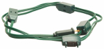 Ho Wah Gentin Kintron Sdnbhd 09492ME 9-Outlet Christmas Tree Cube Tap Extension Cord, 18/2, Green, 9-Ft.