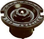 Champion Irrig Div Arrowhead Brass F37PQ Quarter-Circle Flush Sprinkler Head