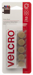 Velcro Usa Consumer Pdts 90071 Sticky Back Fasteners, Beige, 5/8-In. Coins, 15-Ct.