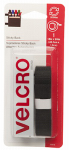 Velcro Usa Consumer Pdts 90078 Sticky Back Tape, Black, 18 x 3/4-In.