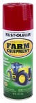 Rust-Oleum 7466-830 Stops Rust Farm & Equipment Spray Paint, International Red, 12-oz.