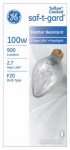 G E Lighting 44540 100-Watt Saf-T-Gard Outdoor Post Light Bulb