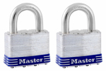 Master Lock 5T 2-Pack 2-Inch Laminated Keyed-Alike Steel Padlock