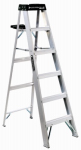 Louisville Ladder AS3006 6-Ft. Step Ladder, Aluminum, Type 1A, 300-Lb. Duty Rating