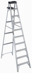 Louisville Ladder AS3010 10-Ft. Step Ladder, Aluminum, Type 1A, 300-Lb. Duty Rating