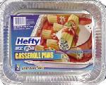 Ez Foil/Reynolds 00Z91894 EZ Foil Casserole Pan Set, 11-3/4 x 9-1/4 x 1-1/2-In., 2-Pk.