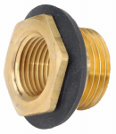 Anderson Metals 57487-1208 Pipe Fitting, Cooler Drain, 3/4 x 1/2-In.