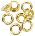General Tools Mfg 1261-0 1/4-Inch Grommet Refill With 24 Brass Grommets