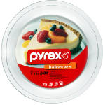 World Kitchen 6001003 Pyrex 9-Inch Clear Pie Plate