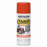Rust-Oleum 7458-830 Stops Rust Farm & Equipment Spray Paint, Allis Chalmers Orange, 12-oz.