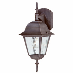 Westinghouse Lighting 67851 100-Watt Textured Rust Outdoor Lantern