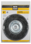 Disston 307025 6-In. Coarse Crimped Wire Wheel