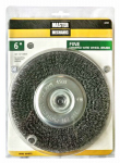 Disston 307033 6-In. Fine Crimped Wire Wheel