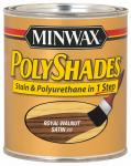 Minwax The 61350 1-Quart Satin Royal Walnut Polyshades Stain