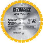 Dewalt Accessories DW3103 Miter Saw Blade, 10-In. x 32TPI