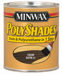 Minwax The 213604444 1/2-Pt. Satin Tudor Polyshades Wood Stain