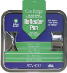 Stanco Metal Prod 900-S Gas Range Reflector Pan, Square, Chrome 7.75-In.