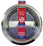 Stanco Metal Prod 5011-8 Electric Range Reflector Bowl, Deep Inset, Chrome, 8-In.