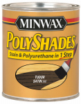 Minwax The 61360 1-Quart Satin Tudor Polyshades Stain