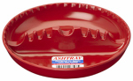 Willert Home Products 99 President Ashtray, Melamine, Assorted Colors, 7-In.
