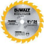 Dewalt Accessories DW9154 6.5-Inch 24-TPI Wood-Cutting Blade