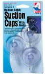 Adams Mfg 6500-74-3040 Suction Cup, Medium, With Hook, 3-Pk.