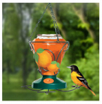 Woodstream 750 24-oz. Glass Oriole Feeder