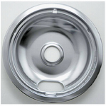 "Range Kleen 102-AM Electric Range Drip Pan, ""A"" Series Plug-In Element, Chrome, 8-In."