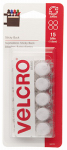 Velcro Usa Consumer Pdts 90070 Sticky Back 5/8-In. Coins, White, 15-Ct.