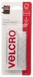 Velcro Usa Consumer Pdts 90076 Sticky Back 3.5-In. Strips, White, 4 Ct.